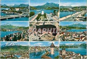 Modern Postcard Luzern