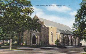Alabama Mobile First Christian Church