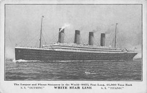 Titanic Ship Post Card Postcards Titanic Ship Postcard Post Card