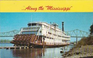 Louisiana New Orleans Sternwheeler On The Mississippi 1985
