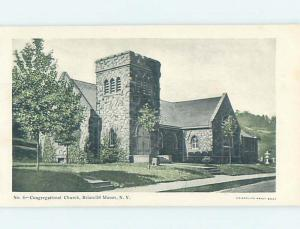 Pre-1907 CHURCH Briarcliff Manor - Near Tarrytown & White Plains NY A2342