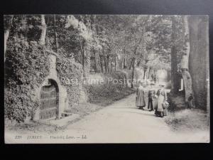 Jersey: Route de Vinchelez, St Ouen c1919 Pub by LL.229