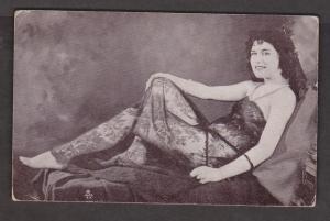 Woman In Bodystocking Reclining - Corner Wear