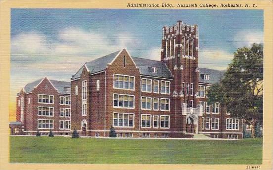 Administration Building Nazareth College Rochester New York