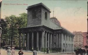 Exterior,  King's Chapel,  Boston,  Massachusetts,  PU_1912