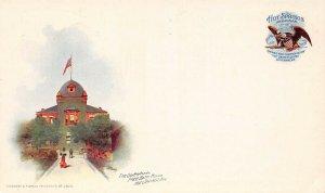 LP23    Hot Springs Arkansas Bath House PMC Postcard