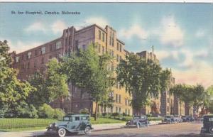 Nebraska Omaha St Joe Hospital 1940