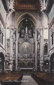 MONTREAL, Quebec, Canada, Sacred Heart Chapel, 00-10s