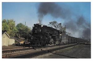 Nickle Plate Road Locomotive 765 Coal Train 2-8-4 Fort Wayne