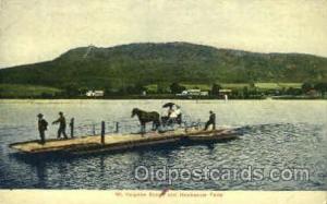 Mt. Holyoke Range, Hockanum Ferry Ferry Boat, Boats Postcard Postcards  Mt. H...