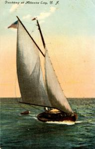 NJ - Atlantic City. Yachts (Sailing)
