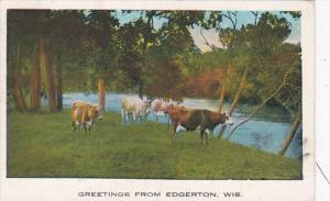 Wisconsin Greetings From Edgerton 1933