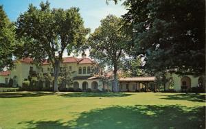 NM - Cimarron. Villa Philmonte at Philmont Scout Ranch and Explorer Base (New...