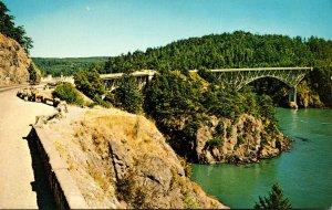 Washington Deception Pass and Canoe Bridges