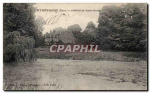 Etrepagny - Chateau Saint Martin Old Postcard