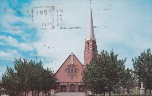 Exterior, The Parish Church,  Dolbeau,  Quebec,  Canada,   40-60s