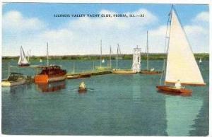 Illinois Yacht Club, Peria , Illinois, 30-40s