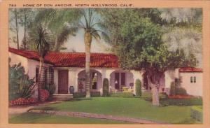 California North Hollywood Home Of Don Amerche