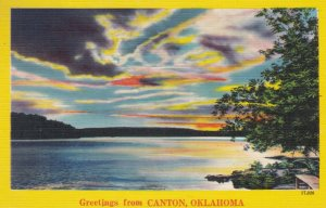 Oklahoma Greetings From Canton