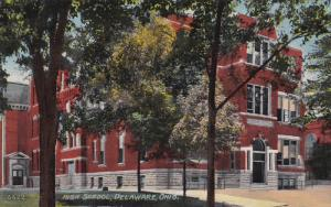 High School, DELAWARE, Ohio, 1900-1910s