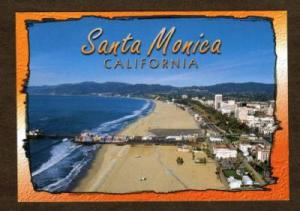 CA Amusement Park Pier SANTA MONICA CALIFORNIA CALIF PC