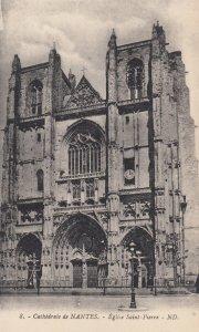 NANTES, France, 1900-10s; Cathedrale de Nantes, - Eglise Saint Pierre