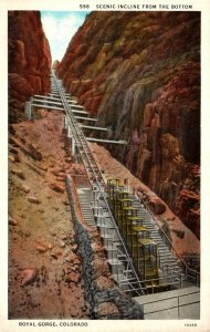 Colorado Royal Gorge Scenic Incline From The Bottom Curteich