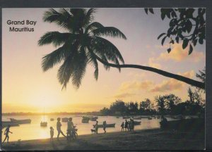 Mauritius Postcard - Sunset, Coconut Trees By The Seaside, Grand Bay   T6497
