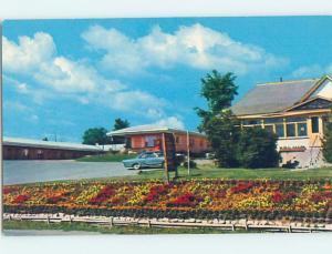 Unused Pre-1980 MOTEL SCENE Woodstock New Brunswick NB B6445