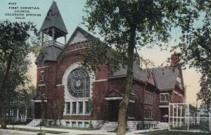 COLORADO SPRINGS , Colorado , 00-10s ; First Christian Church