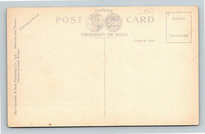 Quebec-Canada, Montcalm's Monument, Vintage Postcard