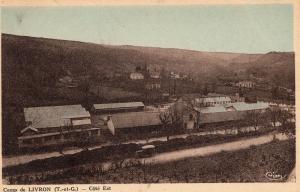 Military Camp de Livron Cote est WW1 01.45