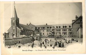 CPA BERCK-PLAGE - La Chapelle de l'Hopital Cazin Perrochaud (268117)