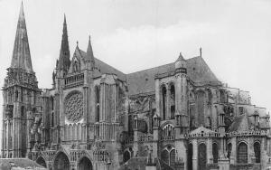France Cathedrale de Chartres, L'Abside Dom Cattedrale