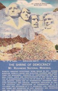 South Dakota Black Hills Shrine Of Democracy