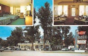 Kanab Utah Parry Lodge and Restaurant Vintage Postcard JF685436