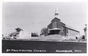 RP: St. Paul's United Church, ASSINIBOIA , Saskatchewan , Canada ,30-40s