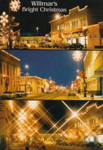 WILLMAR , Minnesota , 60-80s ; Christmas Lights