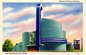 NY - 1939 New York World's Fair. Electrical Products Building