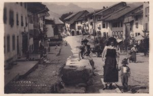 Gruyeres Les Anciennes Mesures Old Switzerland Postcard