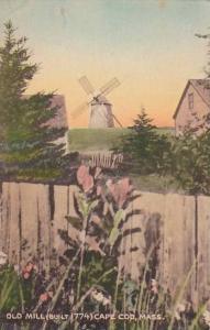 Massachusetts Cape Cod Old Mill Built 1774 1947