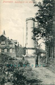 1910 Prachatitz / Prachatice Bohemia Postcard: Rudolfsturm am Libin