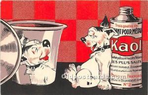 Advertising Postcard - Old Vintage Antique  Kaol