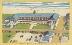 Aerial View Of Ocean Terrace Hotel, Swimming Pool, Wrightsville Beach, North ...
