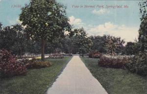 Sidewalk view in Normal Park, Springfield, Missouri, 00-10s
