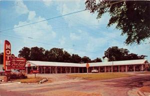 4324  GA  Claxton  1950's Pen-Leah Motel