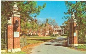 Entrance to Pfeiffer College, Misenheimer, North Carolina, 50-70