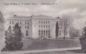 Washington DC Grant Building US Soldiers Home Albertype