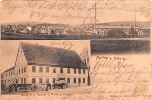 Oeslau b Coburg Germany Branerei u Gasthof v Wilcheim Grosah Oeslau b Coburg ...