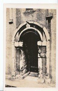 Northamptonshire Postcard - Earls Barton Church - Old Door   MB1277